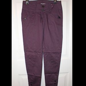 Derek Rose Purple Stripped Pants Trousers